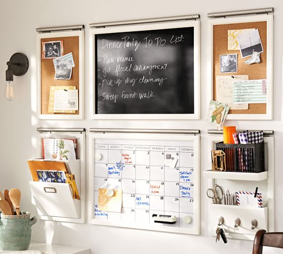 Pottery Barn Daily Wall Organization System
