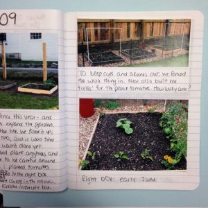 Gardening: Planning with a Journal
