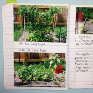 Gardening: Organizing with a Journal