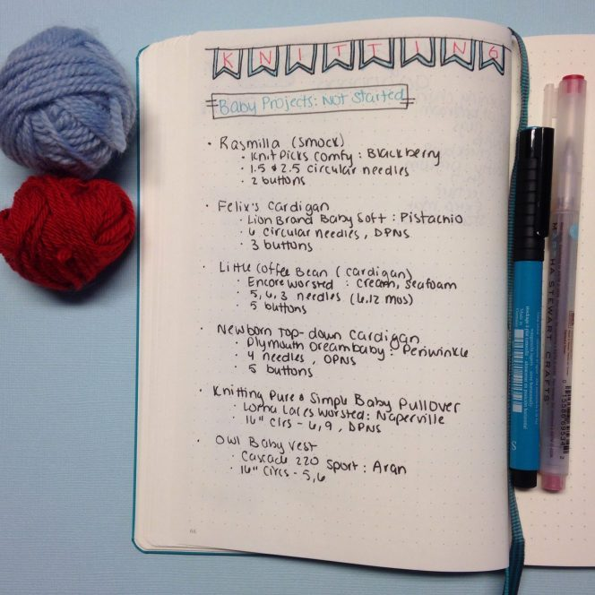 Using a Bullet Journal to Organize Hobbies and Leisure