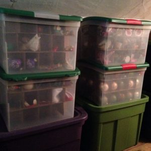 Seasonal Storage: Ornament Boxes