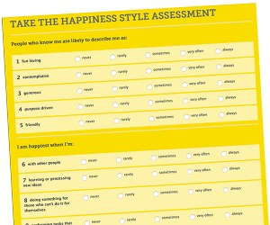Happiness Dare: Gratitude and Happiness Tracking