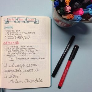Back to School: College Organization in a Bullet Journal