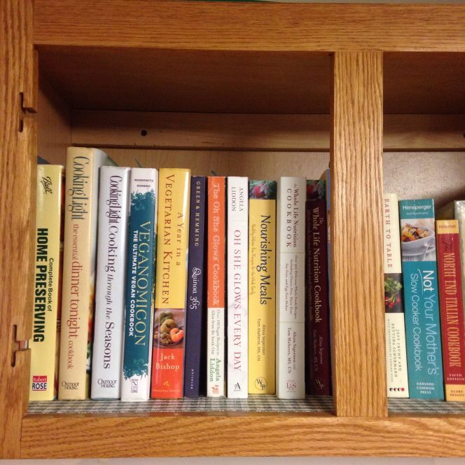 Keep Your Cookbooks Accessible