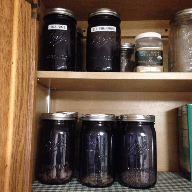Store Nuts and Seeds in Dark Jars To Prevent Them From Going Rancid
