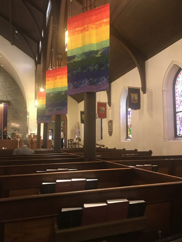 starting over at a new church